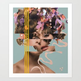 Eeny Meeny Art Print