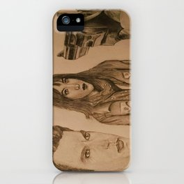 """leila"" - FIFTY SHADES DARKER iPhone Case"