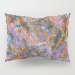Dark Moods Brushstroke Abstract Pillow Sham