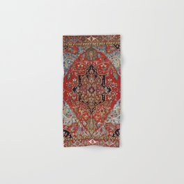 Heriz  Antique Persian Rug Print Hand & Bath Towel