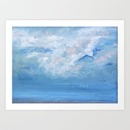 Mare 27 / seascape / Clouds / Sky Art Print