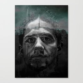 MICHAEL in TRIER Canvas Print