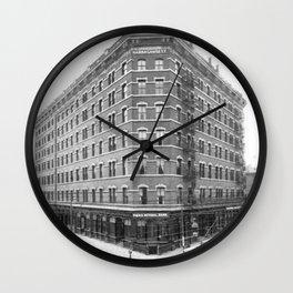 1899 Narragansett Hotel Providence, Rhode Island Wall Clock