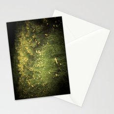 field of yellow flowers. Stationery Cards