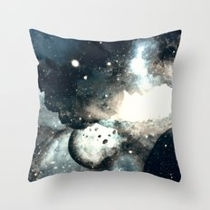 Story of a Bad Dream Throw Pillow