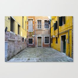 All About Italy. Venice 23 Canvas Print