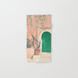 Green Door Hand & Bath Towel