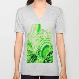 Malachite Green Unisex V-Neck