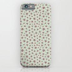 Summertime wallflowers pattern iPhone 6s Slim Case
