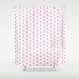A to Z(iggy) pattern Shower Curtain