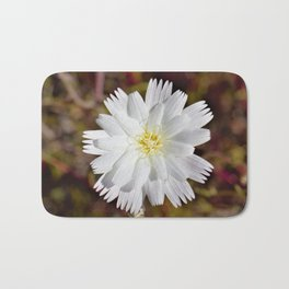 White Petals in the Desert by Reay of Light Photography Bath Mat