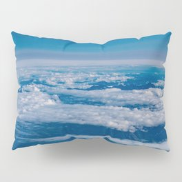 Aerial Glacier Five - Alaska Pillow Sham