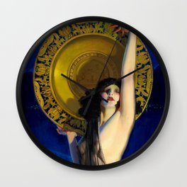 The Enchantress by Rolf Armstrong (c.1927) Wall Clock