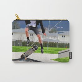 Missed Opportunity  - Skateboarder Carry-All Pouch