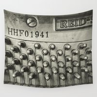piano Wall Tapestries featuring Piano 01B by PRE Media