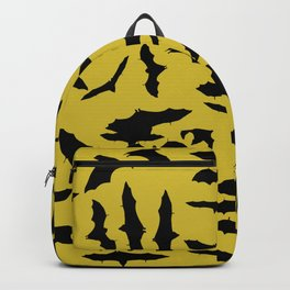 Bats Ceylon Yellow Backpack