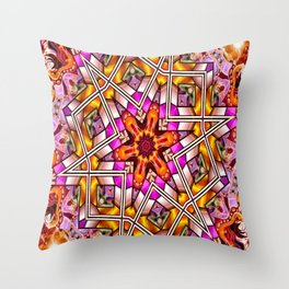 Star Of The Free Throw Pillow
