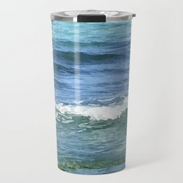 Gradient Sea Colors Travel Mug