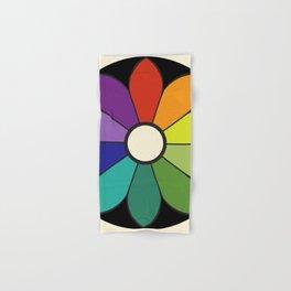 James Ward's Chromatic Circle (interpretation) Hand & Bath Towel