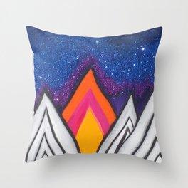 Night Sky #3 Throw Pillow