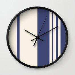 La vie en bleu Wall Clock