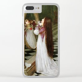 John William Waterhouse - Mariana in the South Clear iPhone Case