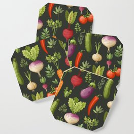 Garden Veggies Coaster