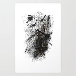 Unwelcome Gaze – Amazon 1 Art Print