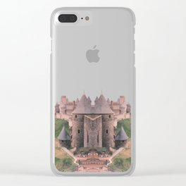 Chateau Photographic Pattern #2 Clear iPhone Case