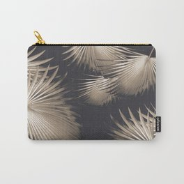 Fan Palm Leaves Paradise #5 #tropical #decor #art #society6 Carry-All Pouch