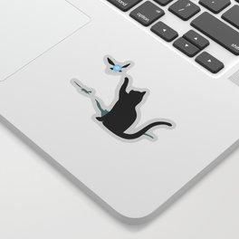 Cat and Navi Sticker