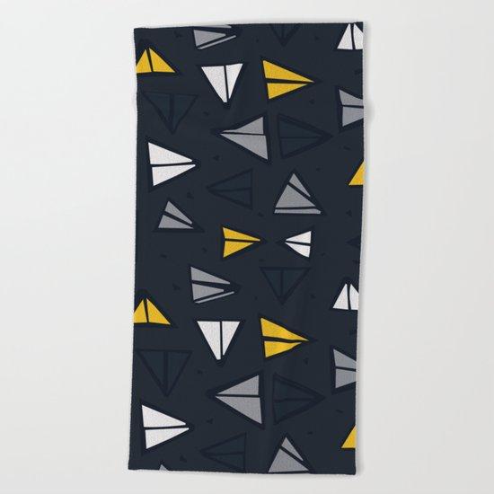 Triangle Trail Beach Towel