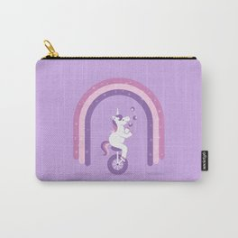 Unicycle Unicorn Carry-All Pouch