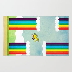 Flappy Unicorn Rug