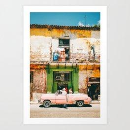 Summer in Cuba Art Print