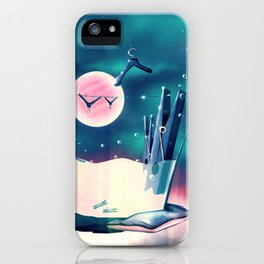 Moon Wash iPhone Case
