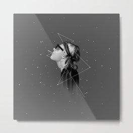 EVERYTHING IS BLACK & WHITE Metal Print