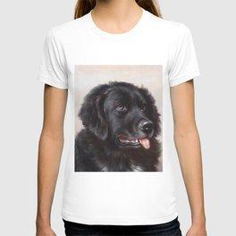 The Newfoundland Dog - Carl Reichert T-shirt