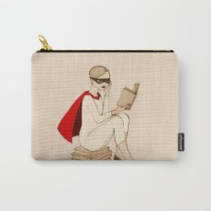 Superhero reader Carry-All Pouch