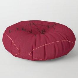 Anarchist Librarian Floor Pillow