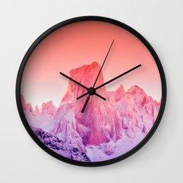 Naranjo de Bulnes Wall Clock