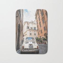 Fiat  in  Rome Bath Mat