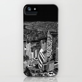 London in BW iPhone Case