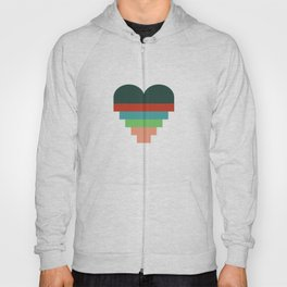 heart geometry Hoody