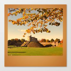 Cardiff Castle Canvas Print