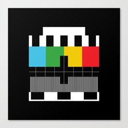 Television Test Pattern  Canvas Print