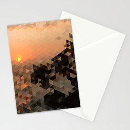 Palm Tree Sunset Stationery Cards