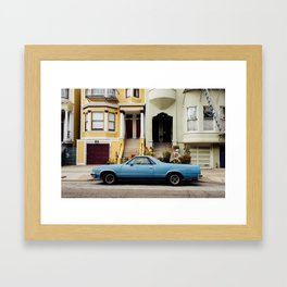 HAIGHT-ASHBURY Framed Art Print