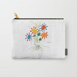Le Bouquet Pablo Picasso Carry-All Pouch