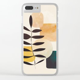 Abstract Elements 20 Clear iPhone Case